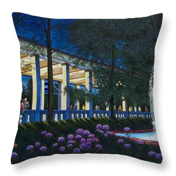 Meet Me At The Muny Throw Pillow