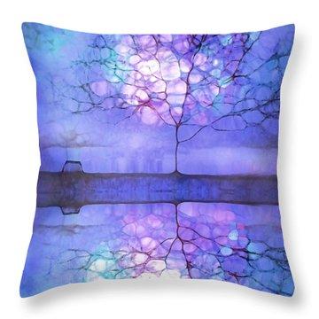 Meet Me At Twilight Throw Pillow