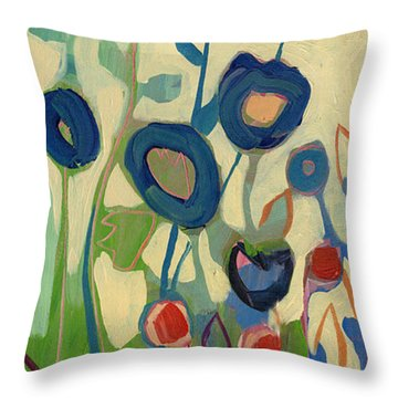 Meet Me In My Garden Dreams Part A Throw Pillow
