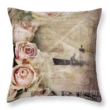 Meet Me There ... Throw Pillow