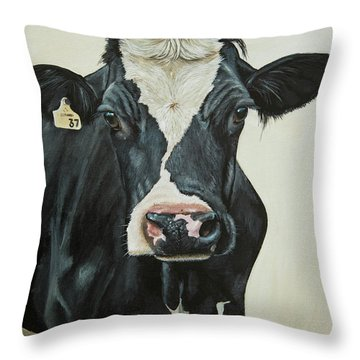 Meet Muffin Throw Pillow