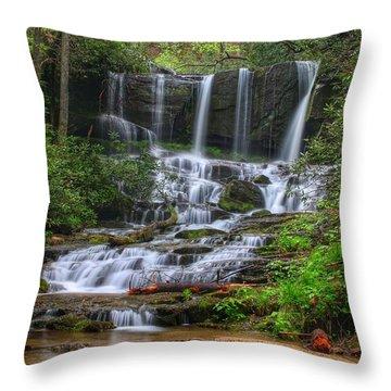 Meet Virginia...in South Carolina Throw Pillow