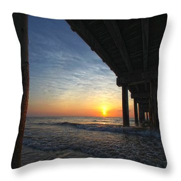 Meeting The Dawn Throw Pillow
