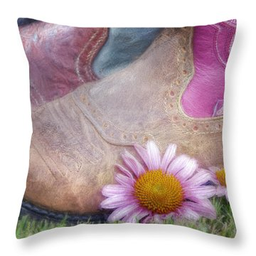 Megaboots 2015 Throw Pillow