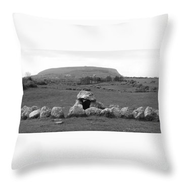 Megalithic Monuments Aligned Throw Pillow