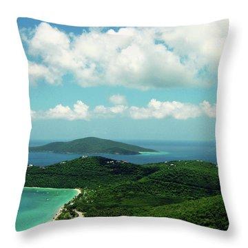 Megan's Bay St. Thomas Throw Pillow