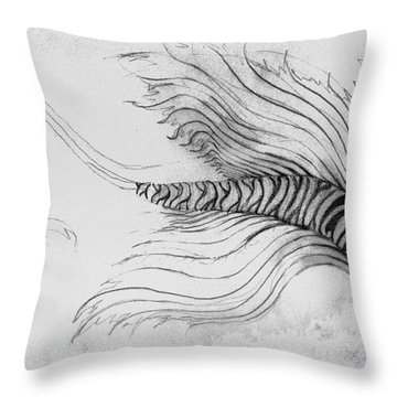 Megic Fish 3 Throw Pillow