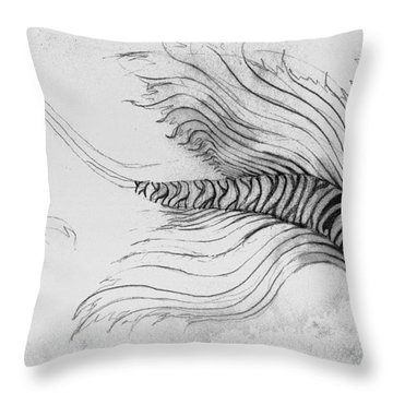 Megic Fish 3 Throw Pillow