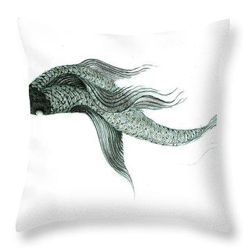 Megic Fish 1 Throw Pillow