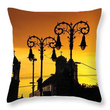 Megiddo Throw Pillow by Skip Hunt