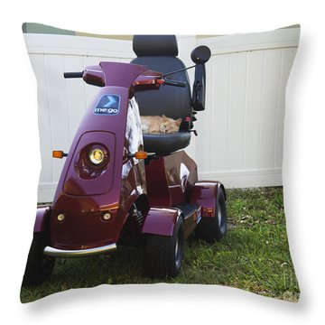 Throw Pillow featuring the photograph Mego And Erick by Megan Dirsa-DuBois