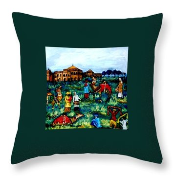 Mela - Carnival Throw Pillow