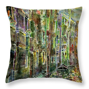 Melanconia Throw Pillow
