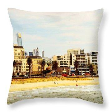Melborne Throw Pillow