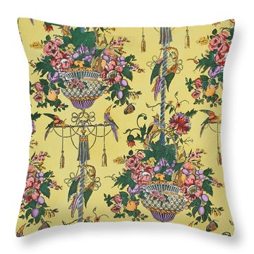 Melbury Hall Throw Pillow by Harry Wearne