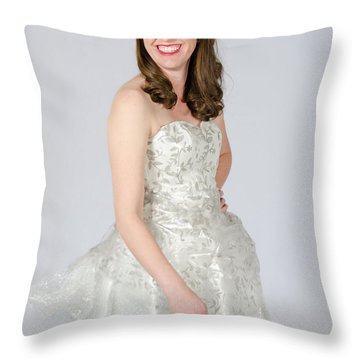 Melisa Hart In Ready To Ship Throw Pillow