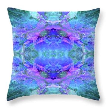 Mellifluous Mermaids Throw Pillow by Tlynn Brentnall