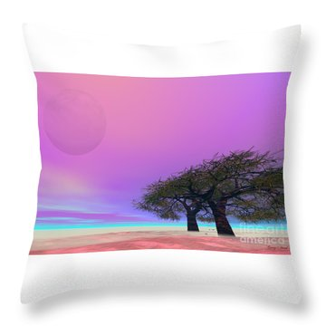 Mellow Throw Pillow by Corey Ford