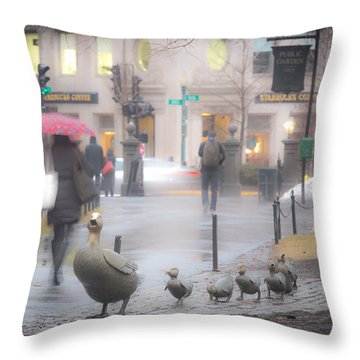 Melt Away Throw Pillow