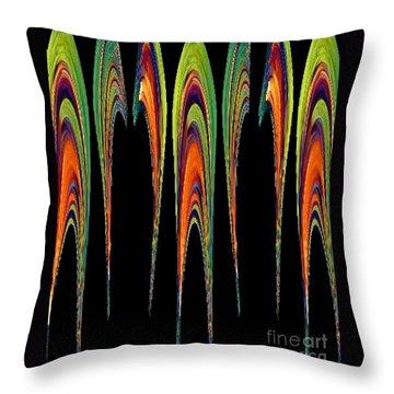 Melting Fusion Throw Pillow