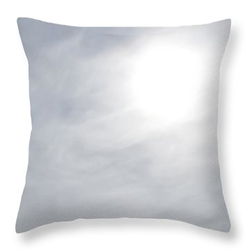 Melting The Clouds Away Throw Pillow