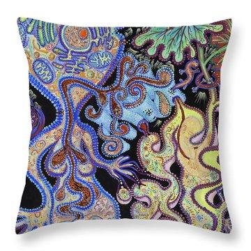 Membranes 1 Throw Pillow
