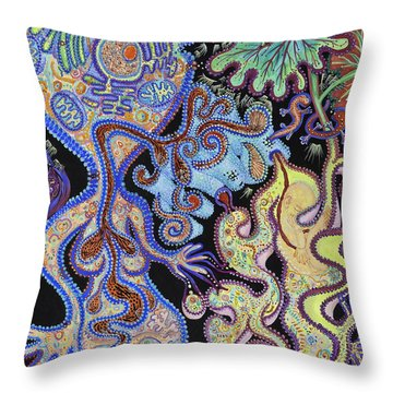 Membranes 1 Throw Pillow