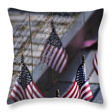 Memorial Day 2015 Throw Pillow by John S
