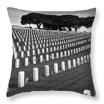 Memorial Day 2016 - Fort Rosecrans Throw Pillow