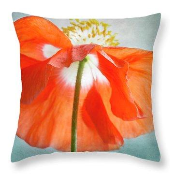 Throw Pillow featuring the photograph Memorial Day by Elena Nosyreva