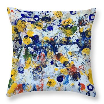 Michigan No 3 Throw Pillow