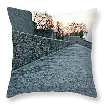 Memorial Steps Throw Pillow