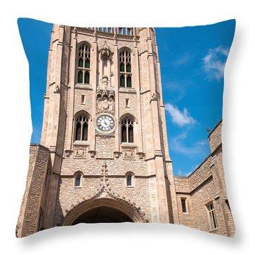 Memorial Union Mizzou Throw Pillow