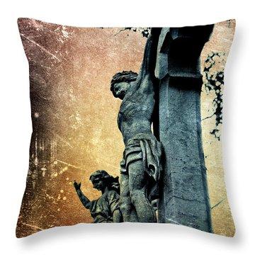 Memorializing Throw Pillow by Scott Wyatt