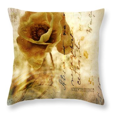 Memories And Time Throw Pillow