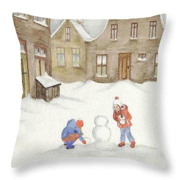 Memories........... Throw Pillow by Annemeet Hasidi- van der Leij