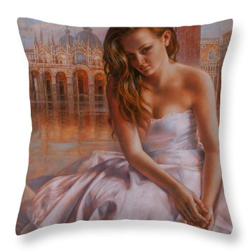 Memories Throw Pillow by Arthur Braginsky