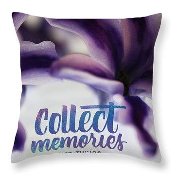 Memories Throw Pillow by Bobby Villapando