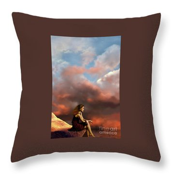Memories Throw Pillow by Corey Ford