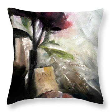 Memories In The Making Timeless Still Life Painting Throw Pillow