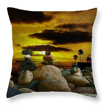Memories In The Twilight Throw Pillow