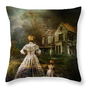 Memories Throw Pillow by Mary Hood