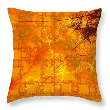 Memories Of Another Time II Throw Pillow