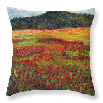 Memories Of Provence Throw Pillow