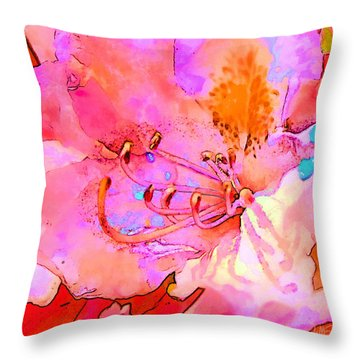 Memories Of Spring Throw Pillow