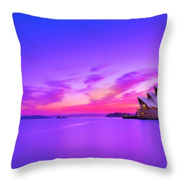 Memories Of Sydney 2 Throw Pillow