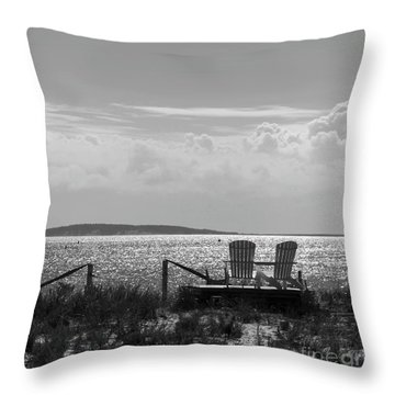 Throw Pillow featuring the photograph Memories Of The Cape by Michelle Wiarda