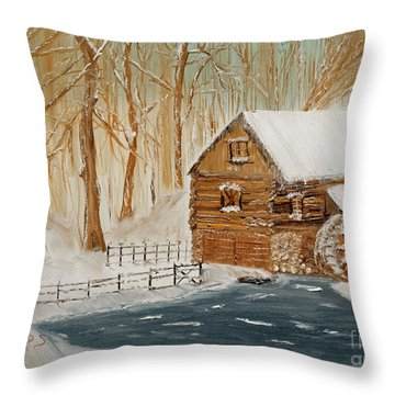 Memories Of The Past Throw Pillow