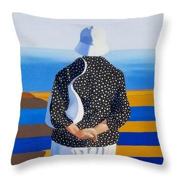 Memories Of The Sea Throw Pillow