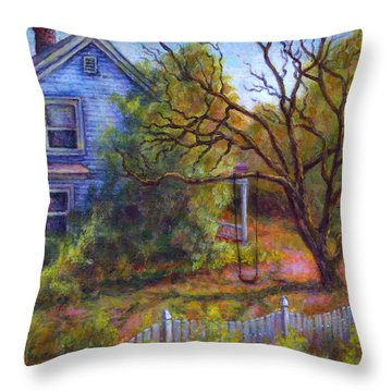 Memories Throw Pillow by Retta Stephenson